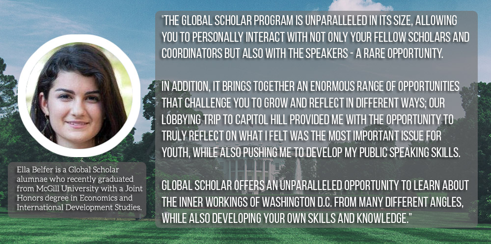 AMP Global Scholar: Ella Quote